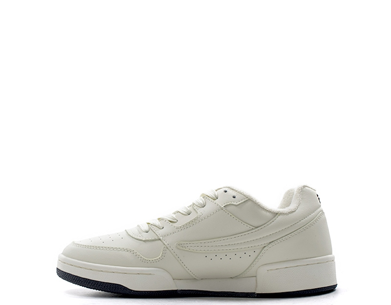 Cuir CHAUSSURES FILA Sneakers BIANCO HOMME recouvert 1010487