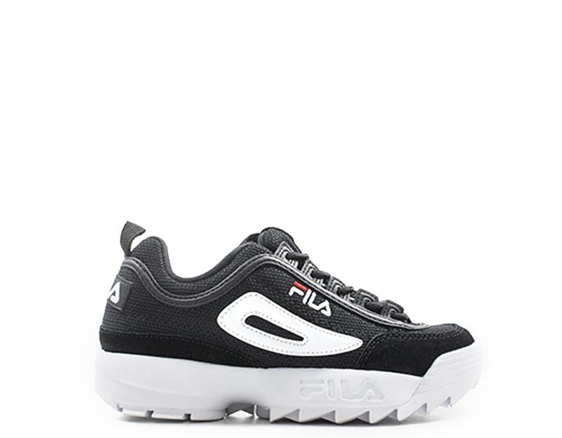 shoes FILA women SNEAKERS  black Scamosciato,Tessuto 1010438-25Y