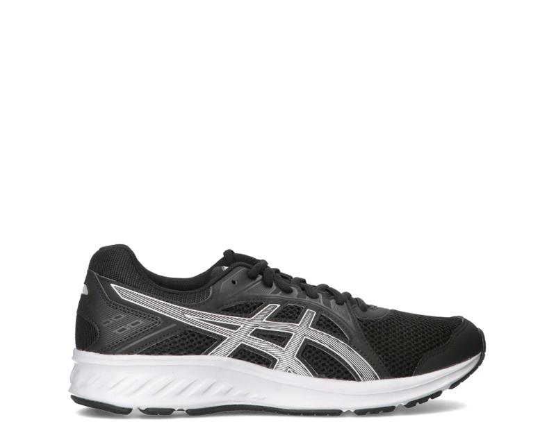 asics running uomo nero/grigio, nero, uomo