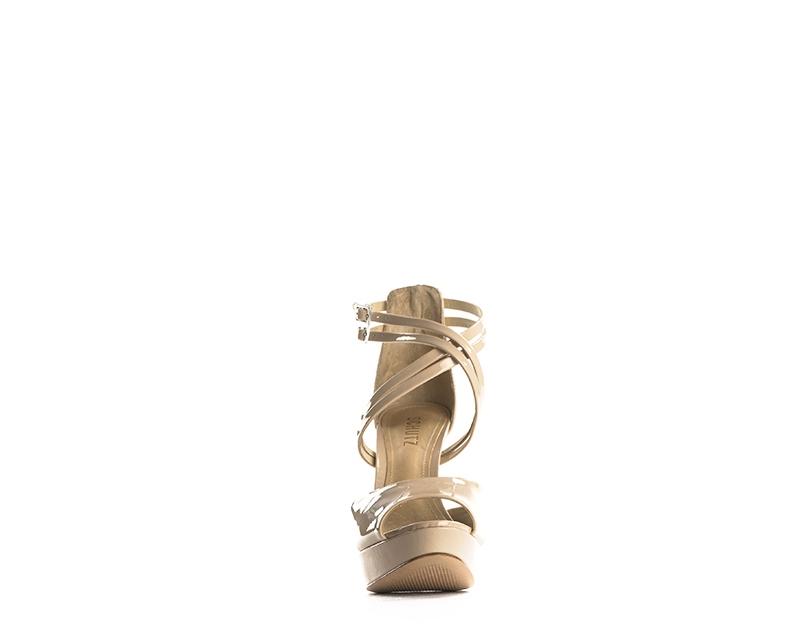 1c1961567c Dettagli su Scarpe SCHUTZ Donna Sandali Alti TITANIO Pelle  naturale,Verniciato 12050347-TA