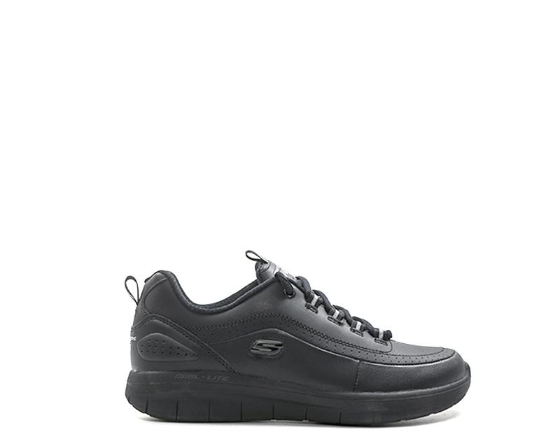 Zapatos SKECHERS SPORT Mujer NERO Cuero naturalPU 12363-BBK