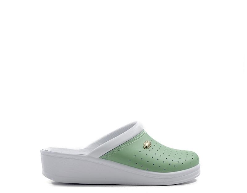Schuhe SANITAL LIGHT Frau BIANCO Beschichtetes Leder 1350GEL