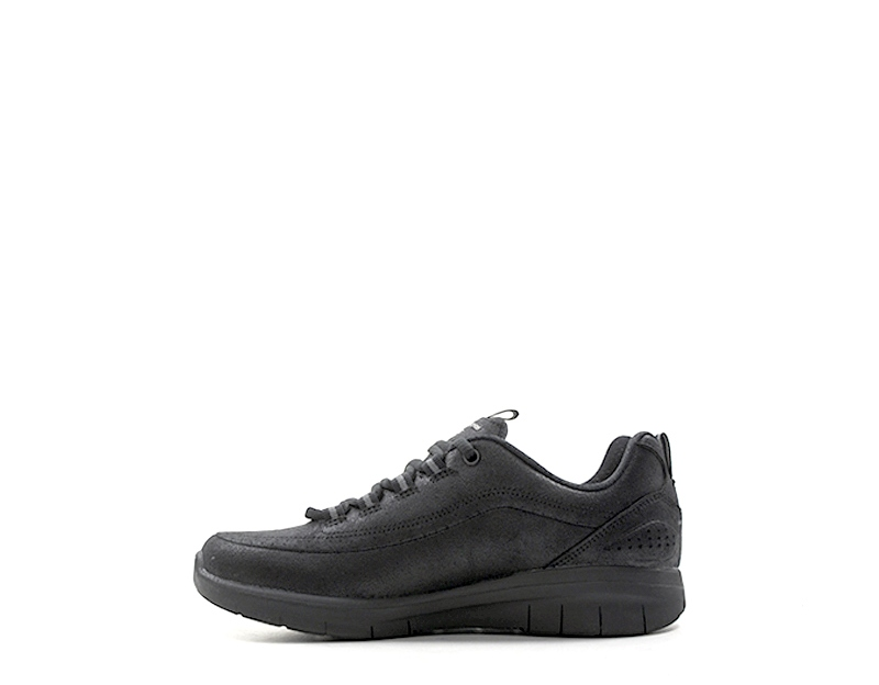 Detalles de Zapatos SKECHERS SPORT Mujer NERO PU,Tela 12934 BBK