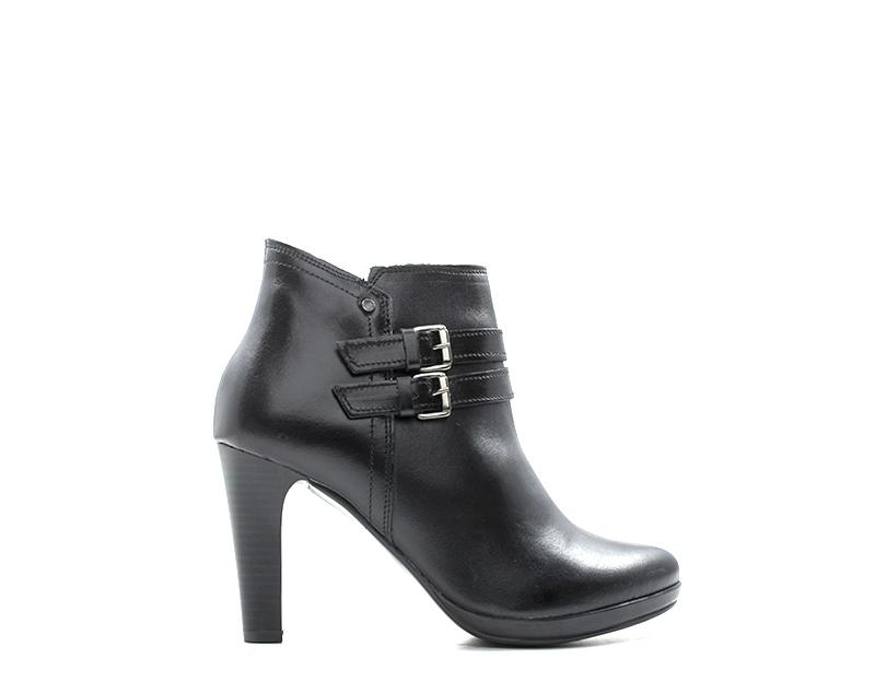 zapatos REBECCA VAN VAN VAN DIK mujer Tronchetti  negro Pelle naturale 1482326-NE  tienda de bajo costo