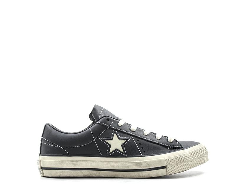 converse nere scarpe uomo pelle