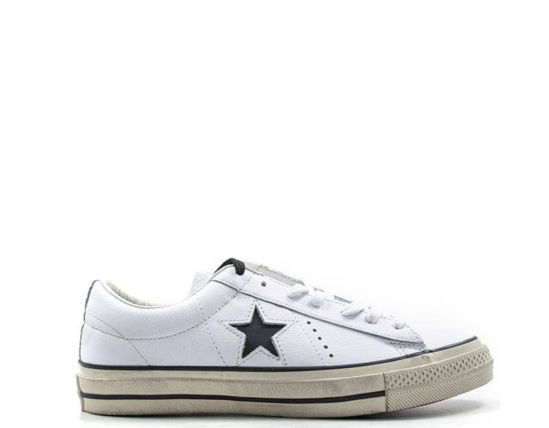 scarpe converse donna pelle