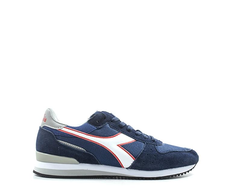 Diadora men zapatos, suede azul Fabric 172315-c7047