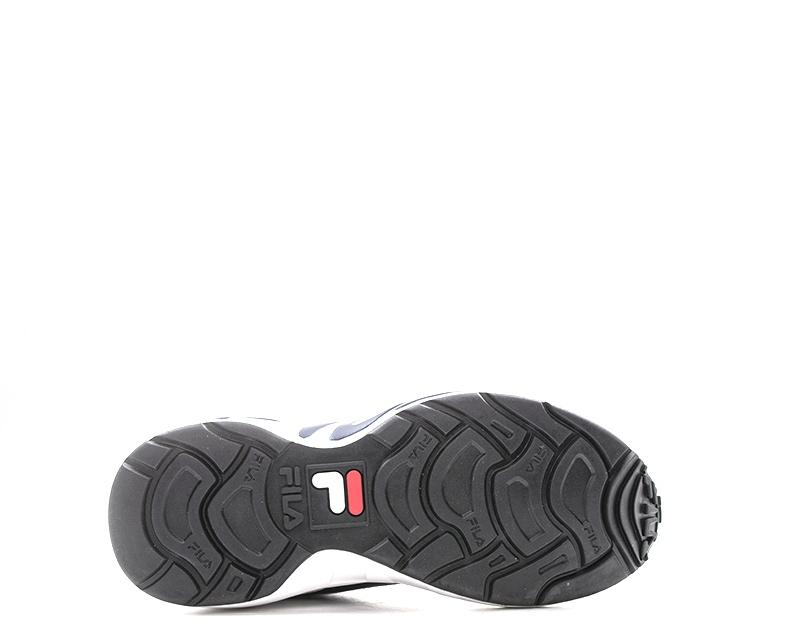 Dettagli su Scarpe FILA Uomo Sneakers trendy BIANCO Pelle rivestita,Tessuto 1RM00128 422