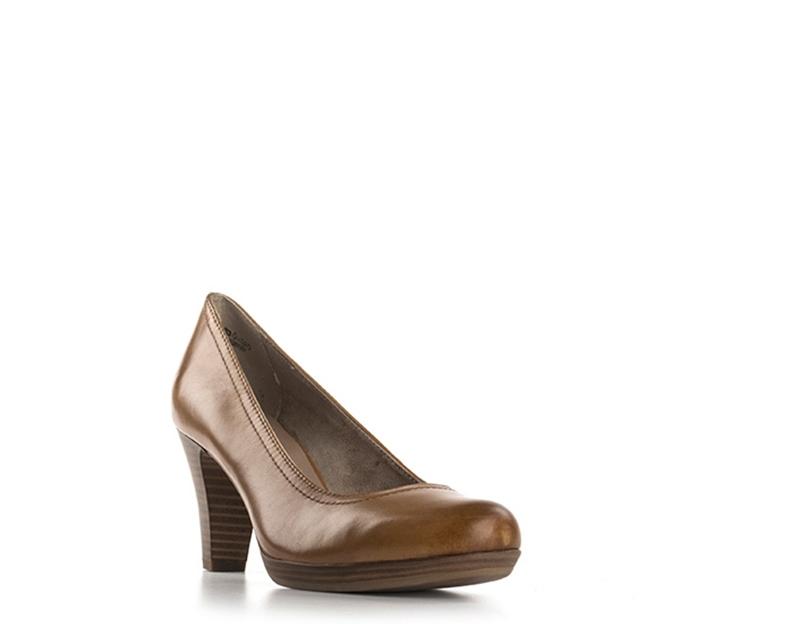 Chaussures TAMARIS Femme ANTILOPE Cuir naturel naturel