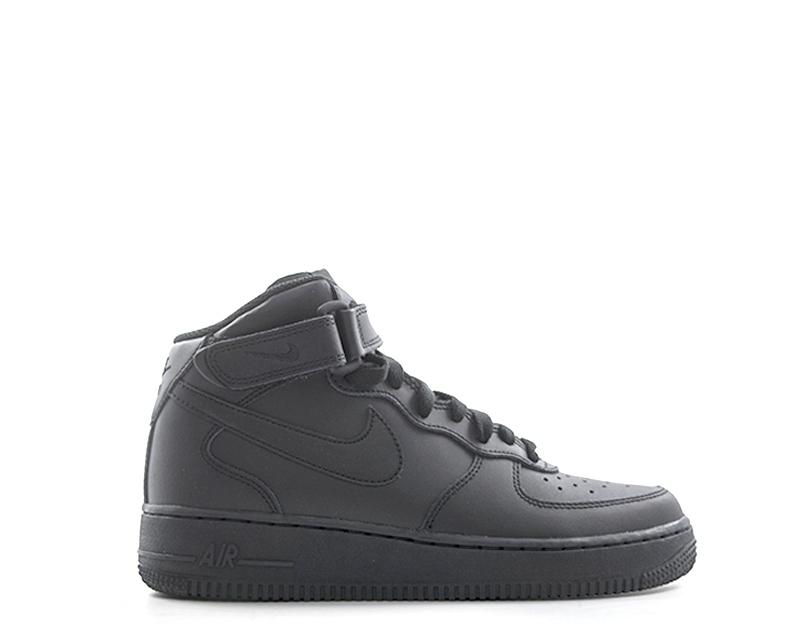 Scarpe NIKE Bambini Sneakers Trendy NERO Pelle naturale 314195-004NR ... 6a9e3596914