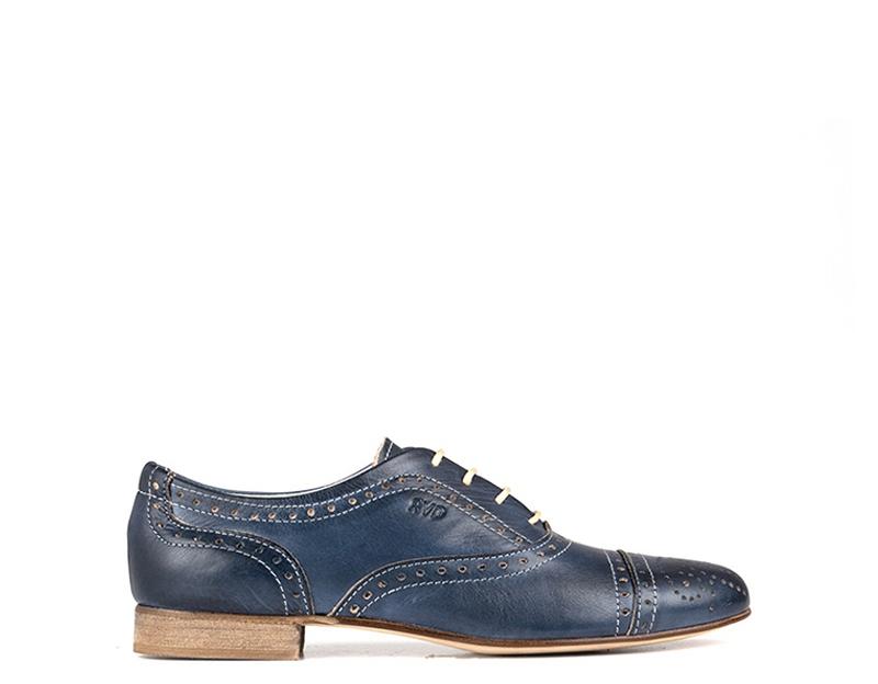 Schuhe REBECCA VAN DIK Damenschuhe BLU Pelle naturale 402BL