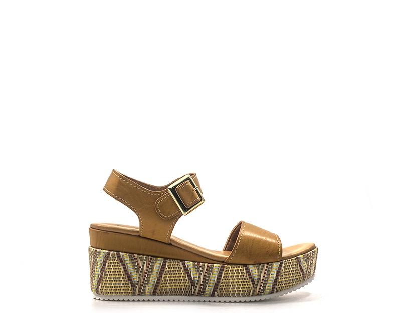Schuhe PAPILLA Frau MILITARE PU 404-CU