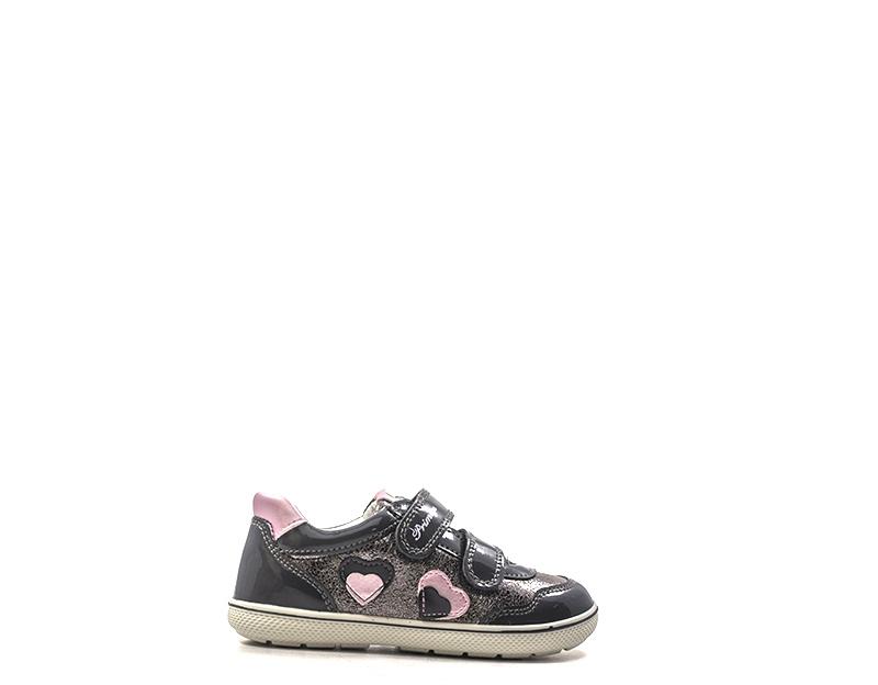 Dettagli su Scarpe PRIMIGI Bambini Sneakers Trendy GRIGIO PU,Verniciato 4363611