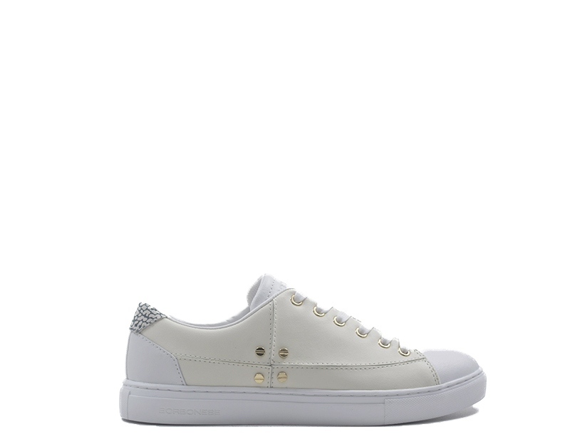 Scarpe BORBONESE Donna Sneakers Trendy  PANNA Pelle naturale 6DQ900G91-T02