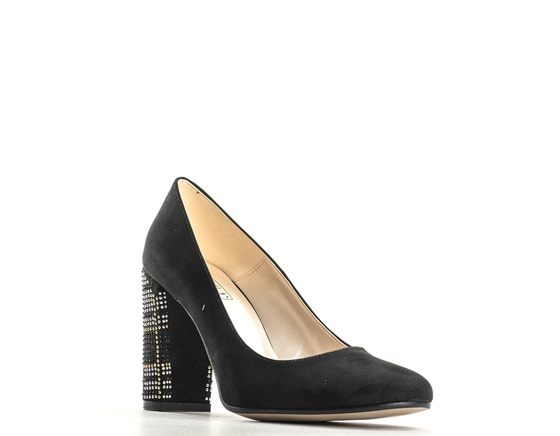 Schuhe PAPILLA Frau NERO Wildleder  72203CAMBL