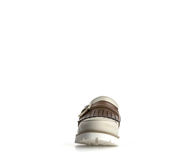 Scarpe Schuhe Naturleder LOLA LOIS Frau GHIACCIO/CUOIO Naturleder Schuhe 7251VIT-GC ce28a7