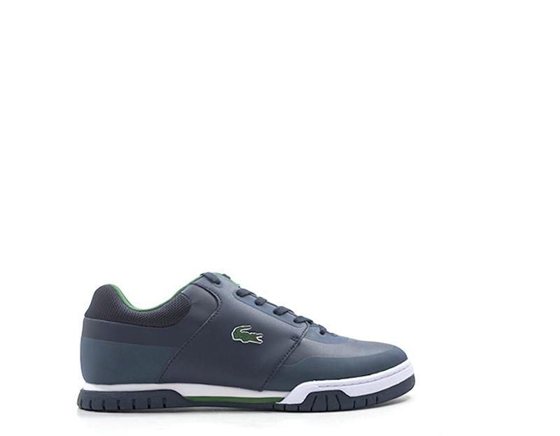 c61d762e39 Dettagli su Scarpe LACOSTE Uomo Sneakers trendy BLU PU,Tessuto  734SPM0014-2S3S