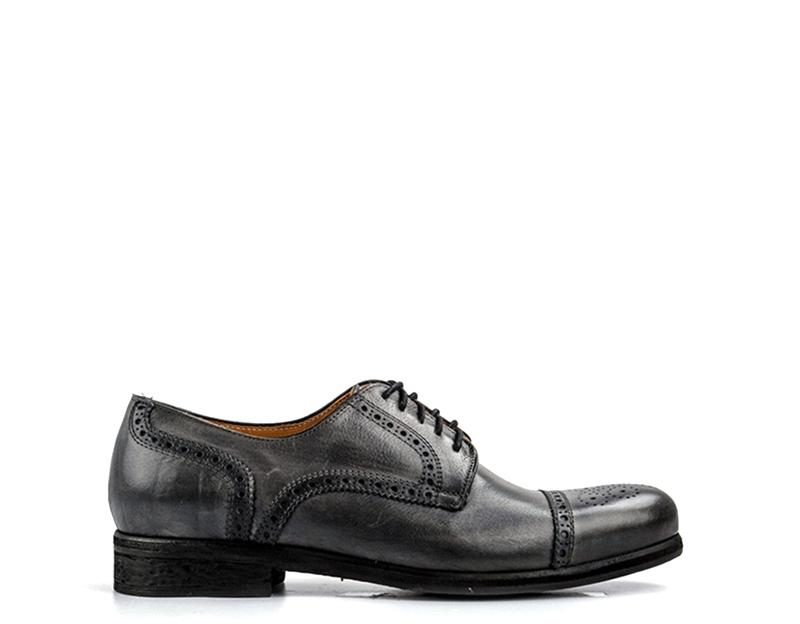 shoes HOLE B men Stringate  FUMO  B0003