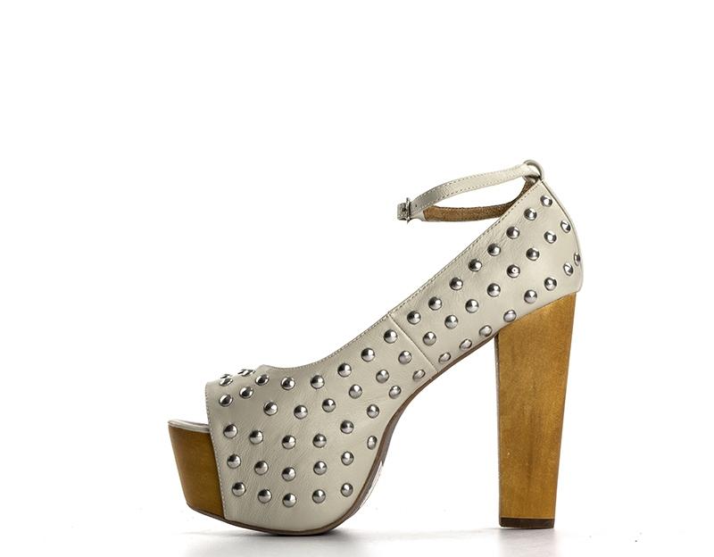 JEFFREY CAMPBELL Sandali Alti donna oro quellogiusto bianco