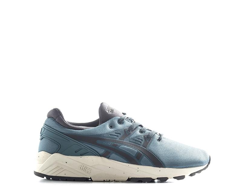 shoes ASICS men Sneakers  blue grey Similpelle,Tessuto HN512-1416S