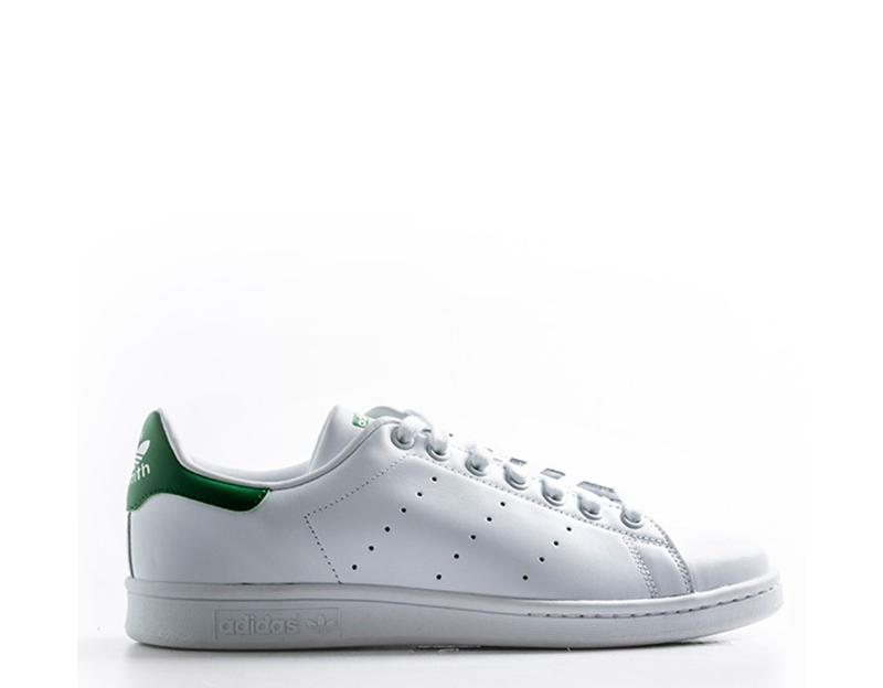 Zapatos  ADIDAS in hombre BIANCO/VERDE Inserti in ADIDAS pelle,Tessuto M20324U fbd73a