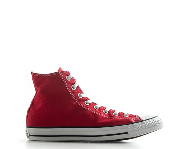 scarpe converse alte uomo rosse