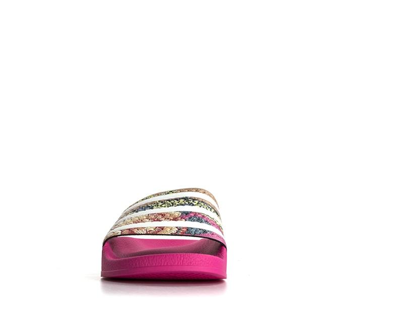Scarpe-ADIDAS-Donna-ROSA-Inserti-in-pelle-Tessuto-S78866