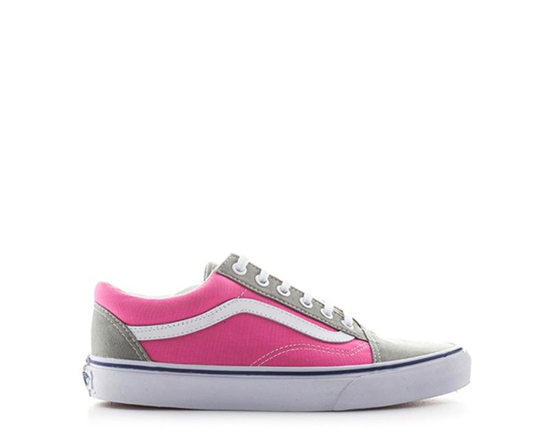 Dettagli su Scarpe VANS Bambini Sneakers GRIGIOROSA Tessuto VOKC6QR