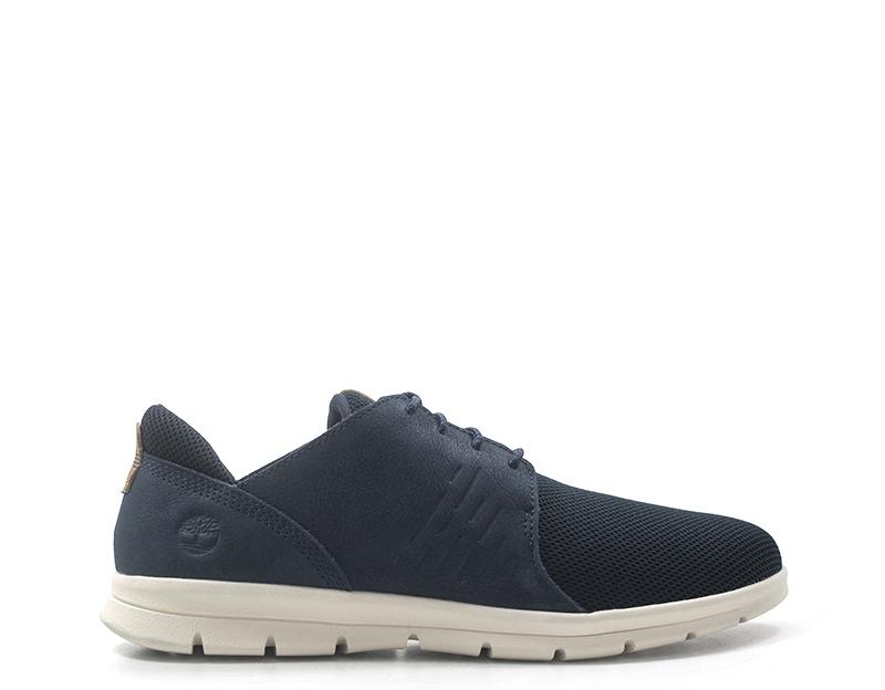 Details zu Schuhe TIMBERLAND Mann BLU Naturleder,Stoff A1XF2 0191
