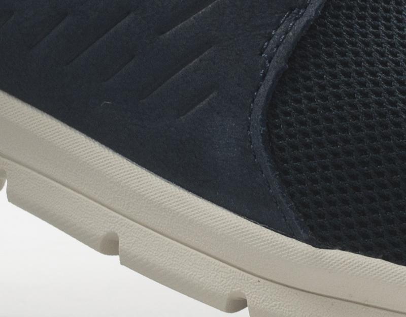 e1f63657a0 Dettagli su Scarpe TIMBERLAND Uomo Sneakers trendy BLU Pelle  naturale,Tessuto A1XF2-0191