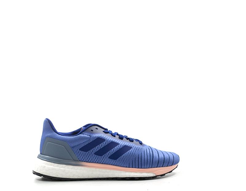 Schuhe ADIDAS Frau Blau PU,Stoff AC8139