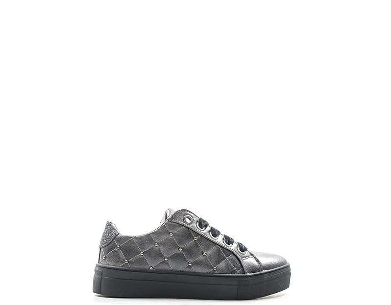 d6c7546e5f5eb Scarpe ASSO Bambini Sneakers Trendy GRIGIO PU AG120200GR-30-36