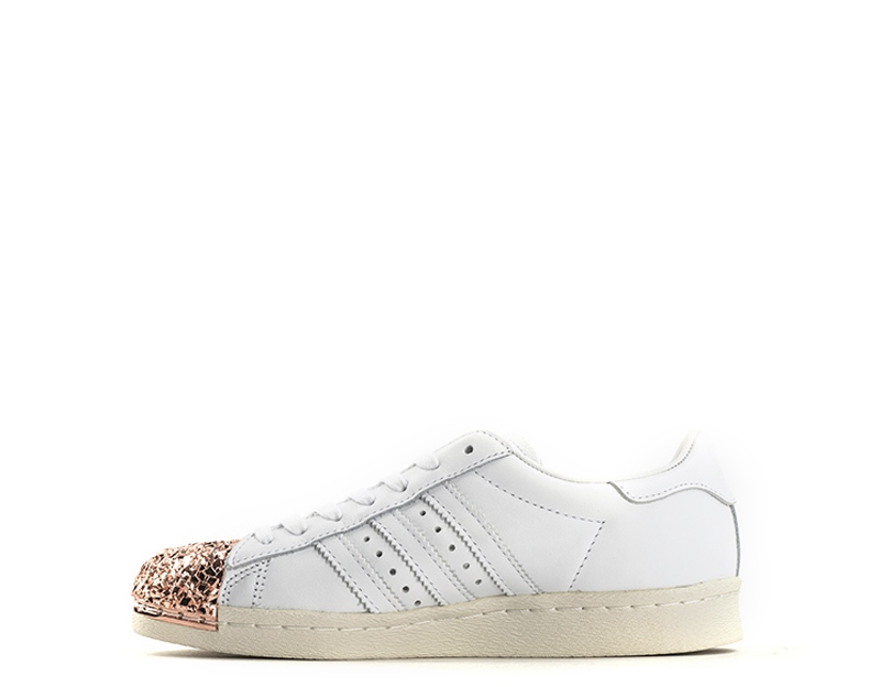 best website 65631 4741a Scarpe ADIDAS Donna Sneakers BIANCO SALMONE Pelle naturale BB2034