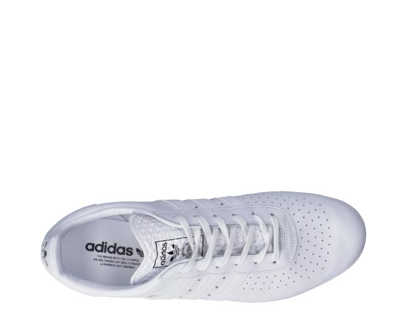 Détails sur Chaussures ADIDAS Homme Baskets Blanc Cuir Naturel BB2781