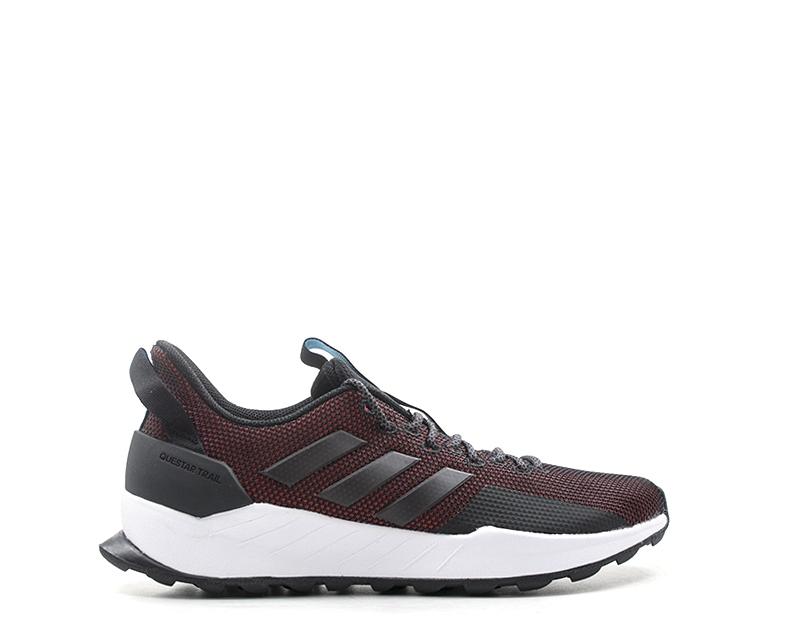 shoes ADIDAS men Running men  black PU,Tessuto BB7382