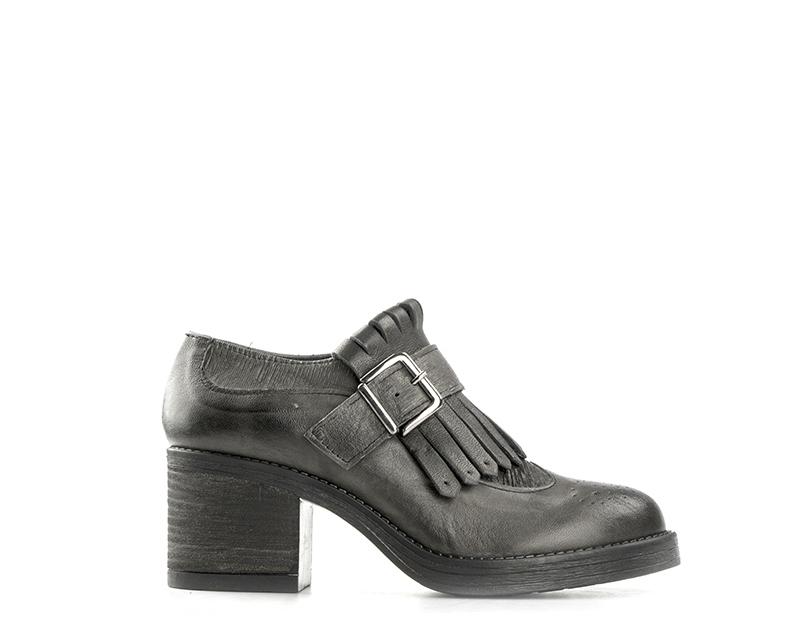 Schuhe MEZZETINTE Frau GRIGIO Naturleder BECKS73GR