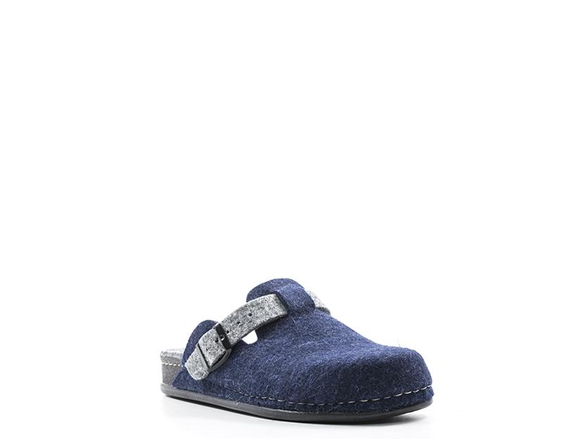 Scarpe GRUNLAND Donna Pantofole  BLU Tessuto CI0795A6REPS