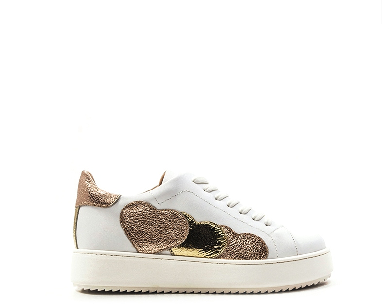 Twin Set shoes-Simona Barbieri Women Sneakers Trendy White Natural Leather cs8