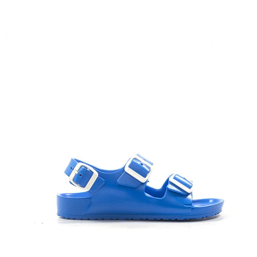 Il miglior posto stili diversi prezzo ridotto BIRKENSTOCK MILANO EVA Sandalo bimbo blu