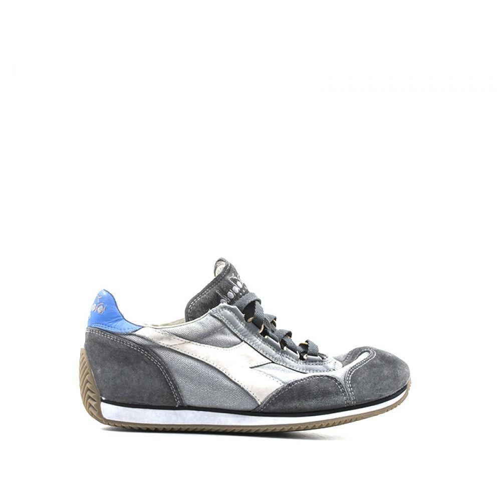 DIADORA HERITAGE EQUIPE Sneaker donna grigia in pelle
