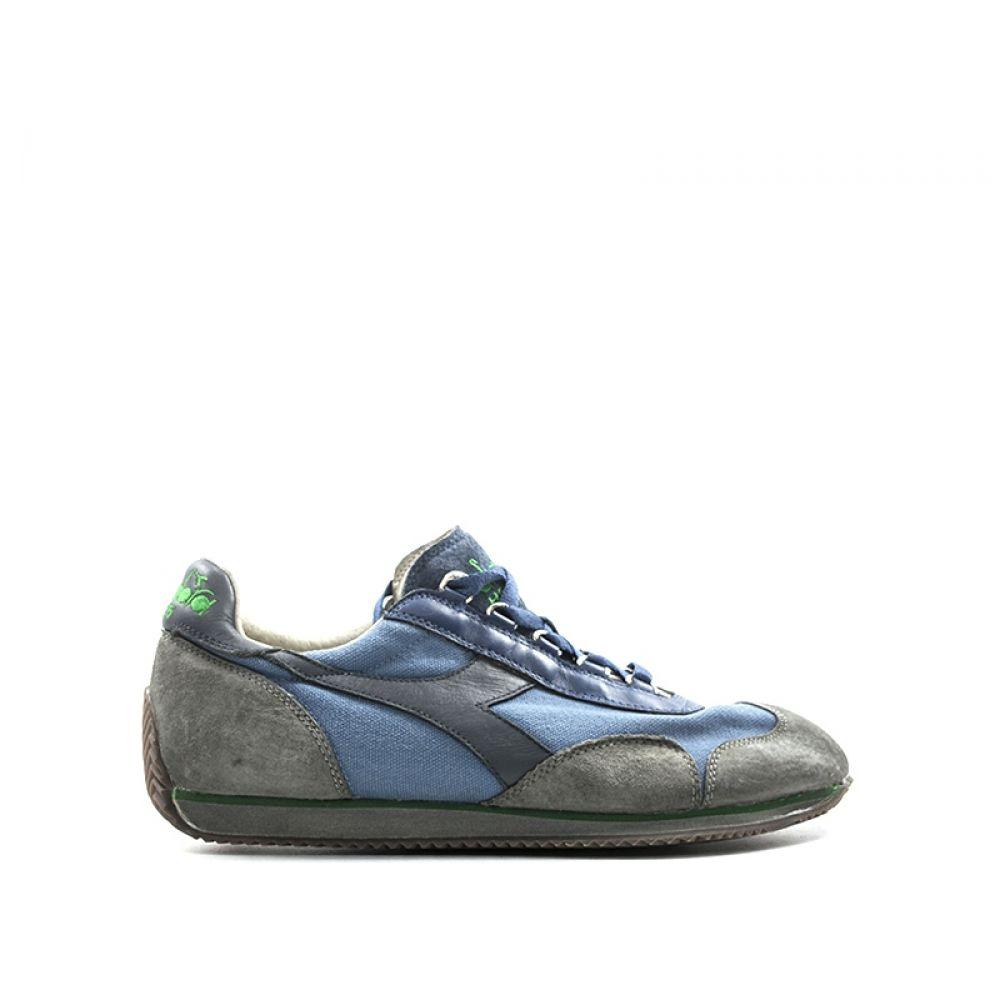 DIADORA HERITAGE EQUIPE Sneaker donna blugrigia pelle