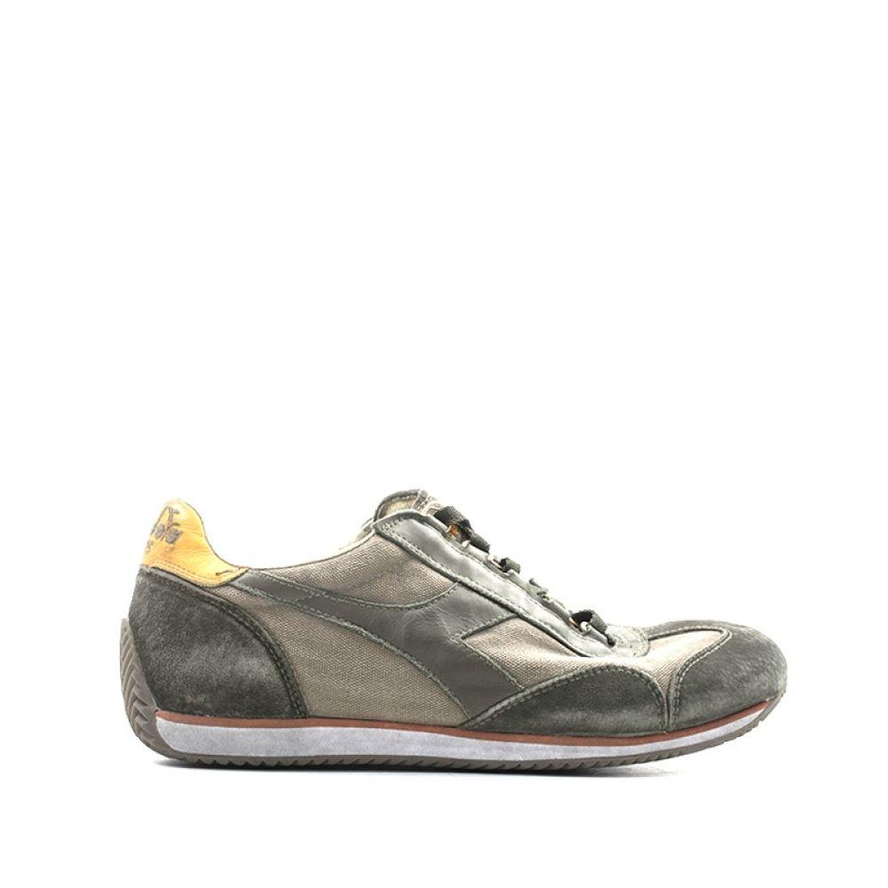 DIADORA HERITAGE EQUIPE Sneaker donna marrone in pelle