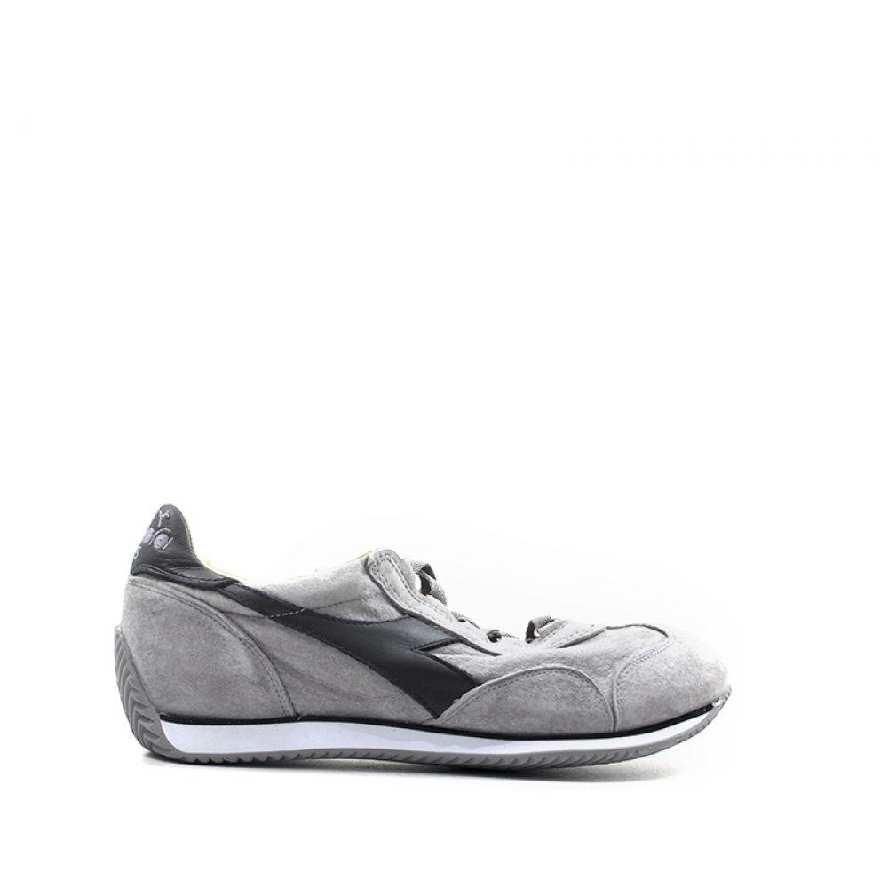 DIADORA HERITAGE EQUIPE S. SW Sneaker uomo grigia in pelle
