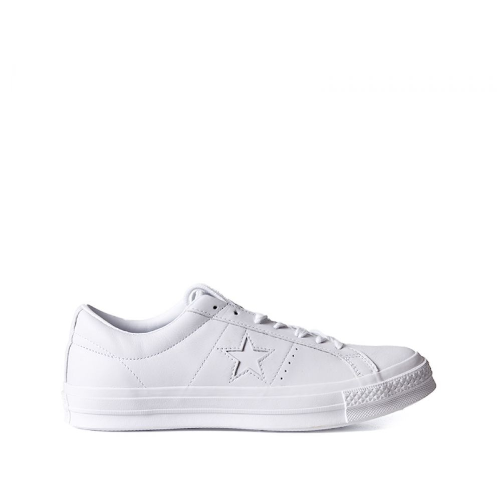 converse bianche one star ox