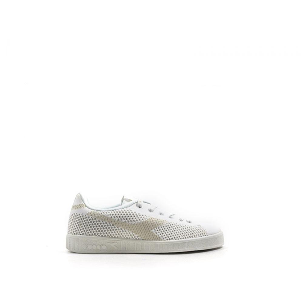 DIADORA GAME WEAVE Sneaker donna bianca in tessuto