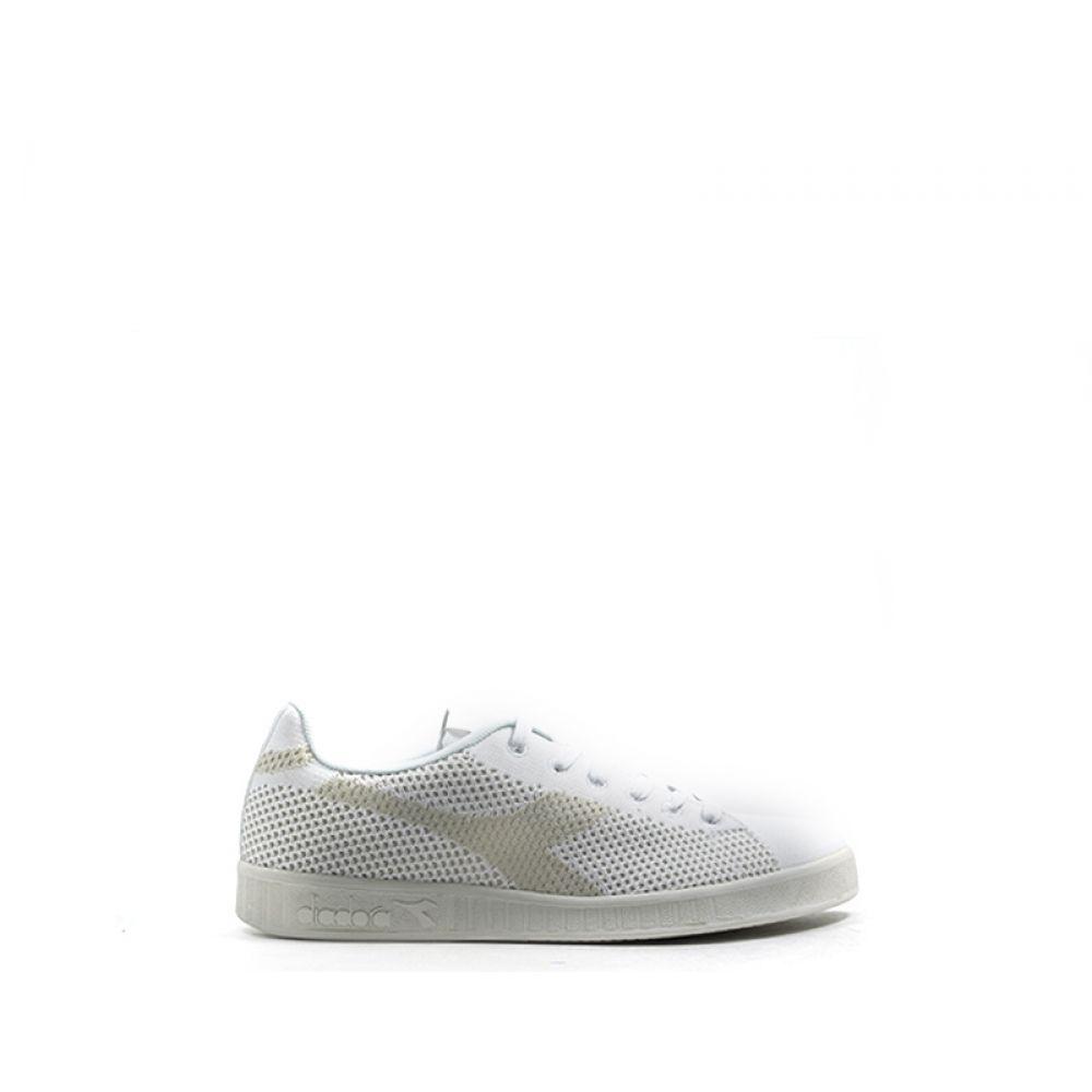 7735cd7e37 DIADORA GAME WEAVE Sneaker uomo bianca in tessuto