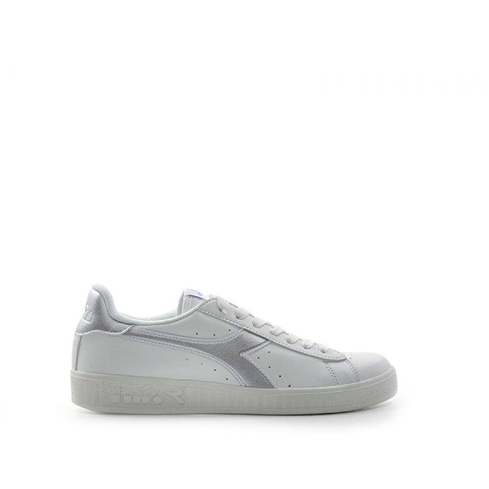 DIADORA Sneaker donna biancaargento in pelle