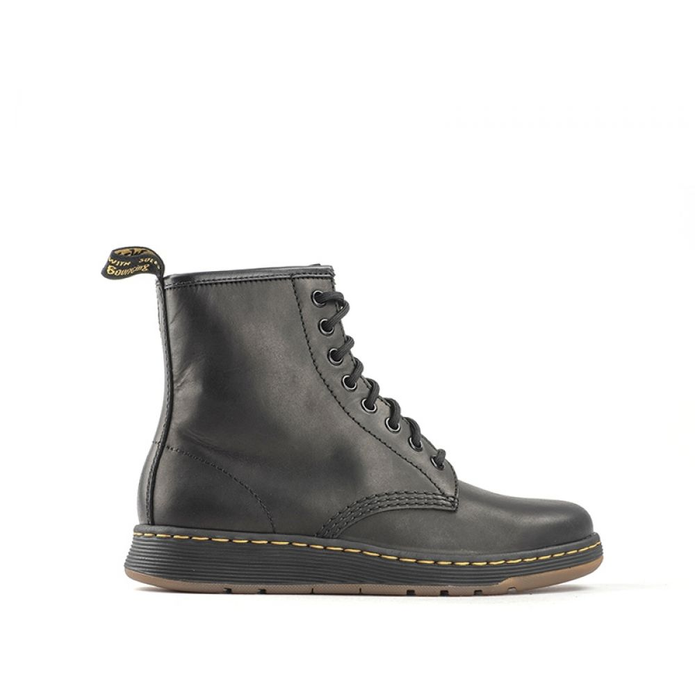 huge discount b8db8 2ea28 DR. MARTENS Anfibio donna nero in pelle