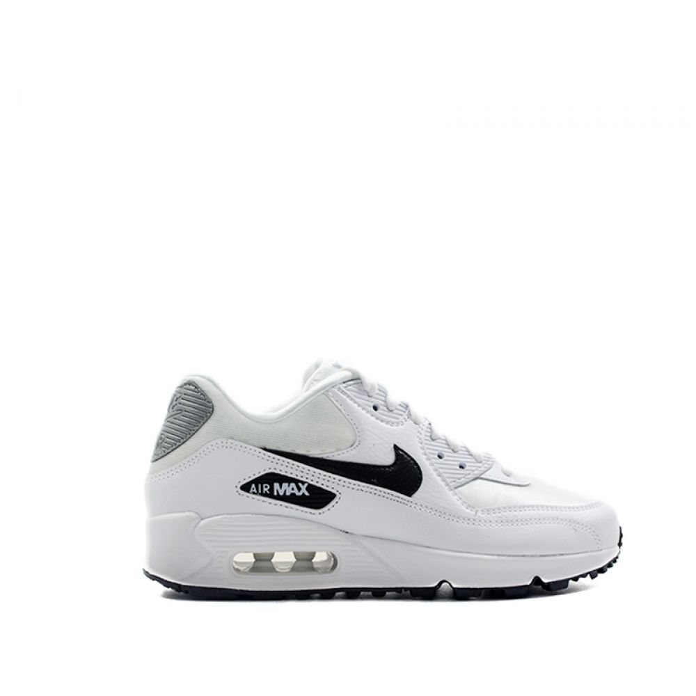air max in pelle bianche