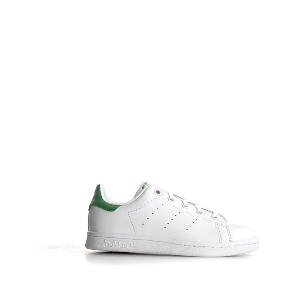 ADIDAS STAN SMITH Sneakers bambino biancoverde in pelle